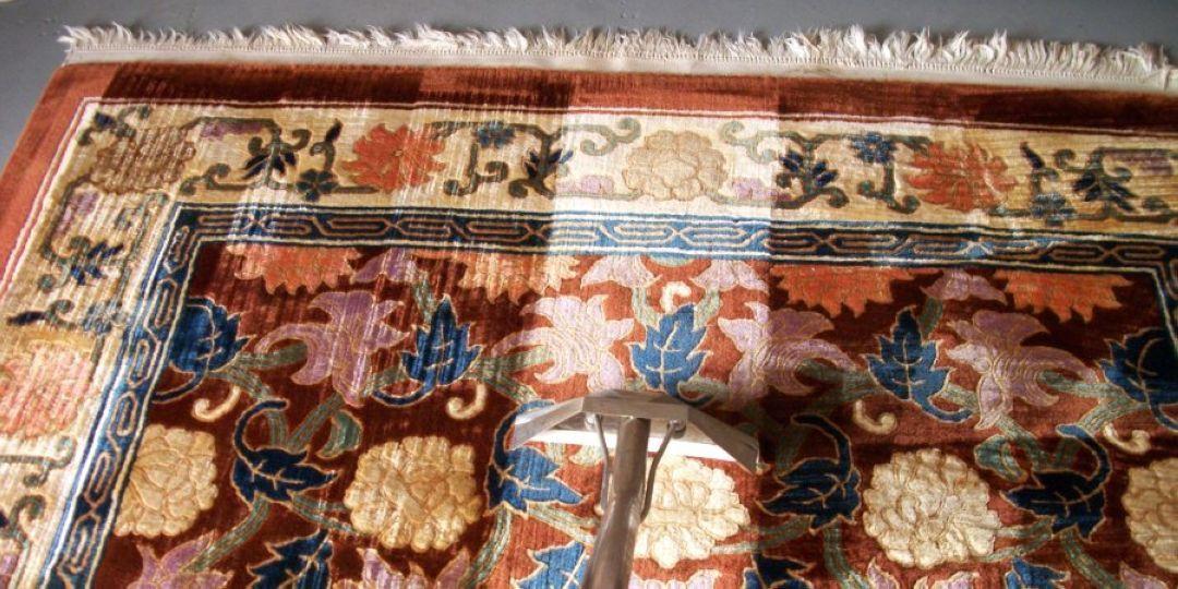 Čištění a údržba perských koberců