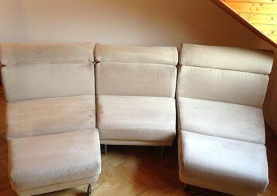 Čištění textilních sedaček 07