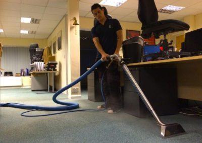 Mokré a extrakční čištění koberců 08